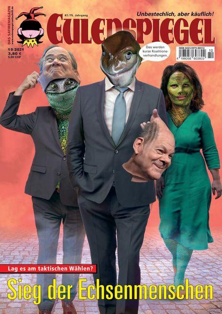 EULENSPIEGEL Ausgabe 10/2021