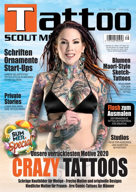Tattoo Scout Ausgabe Nr. 79