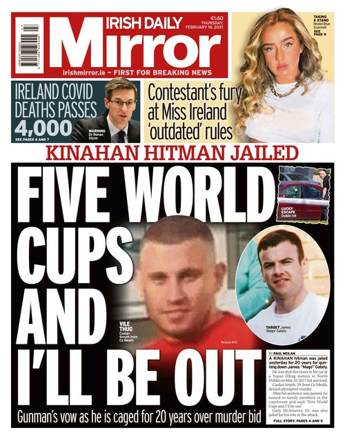 Irish Daily Mirror 2021-02-18