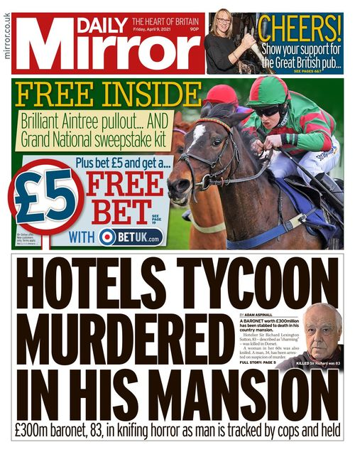 Daily Mirror 2021-04-09