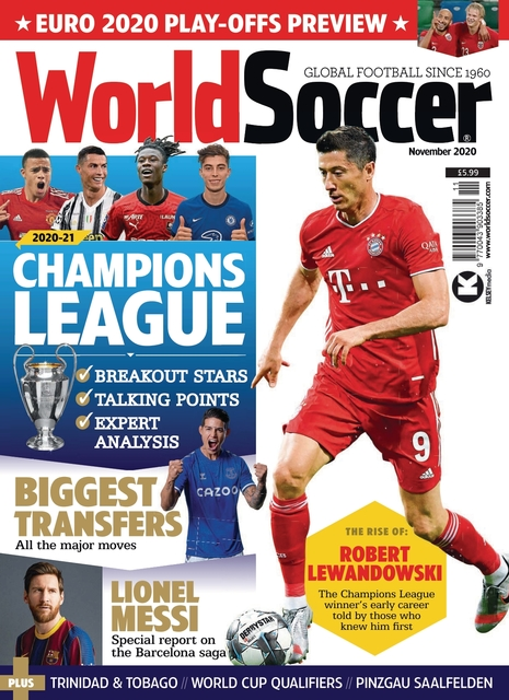 World Soccer issue 11/2020
