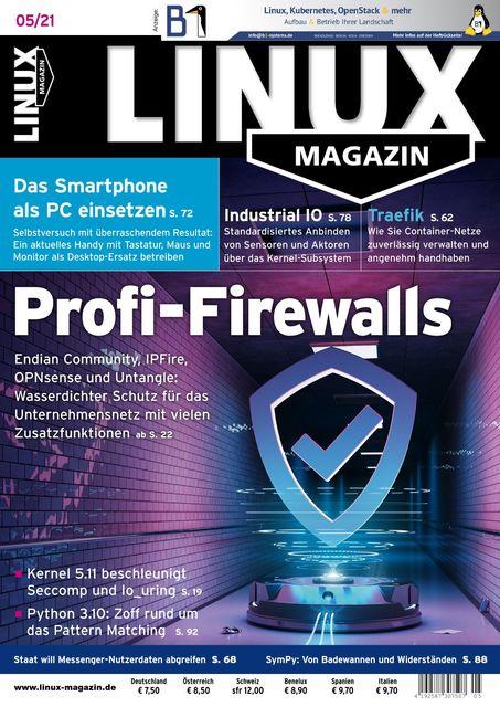 Linux Magazin Ausgabe 05/2021