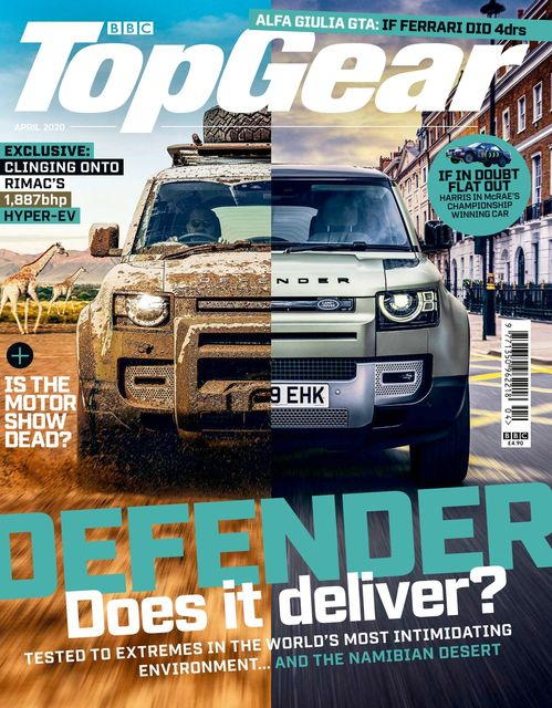 BBC Top Gear Magazine issue 04/2020