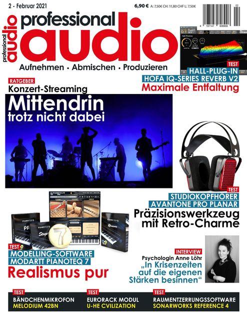 Professional audio Ausgabe 02/2021