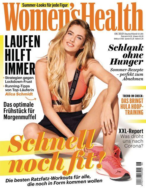 WOMEN'S HEALTH Ausgabe 06/2021