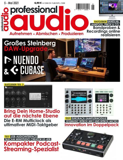 Professional audio Ausgabe 05/2021