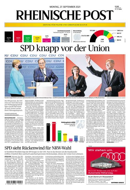 Rheinische Post 2021-09-27