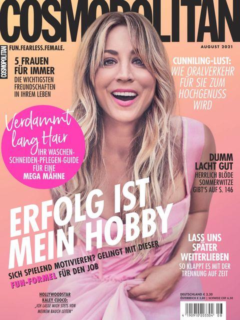 Cosmopolitan Ausgabe 8/2021