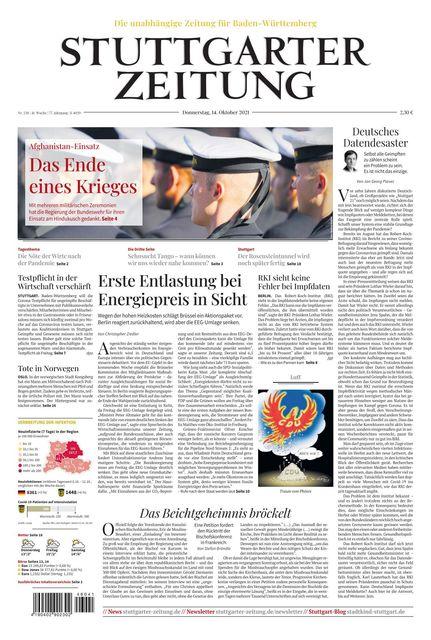 Stuttgarter Zeitung 2021-10-14
