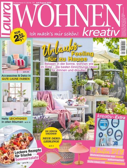 Laura Wohnen Kreativ Ausgabe 7/2020