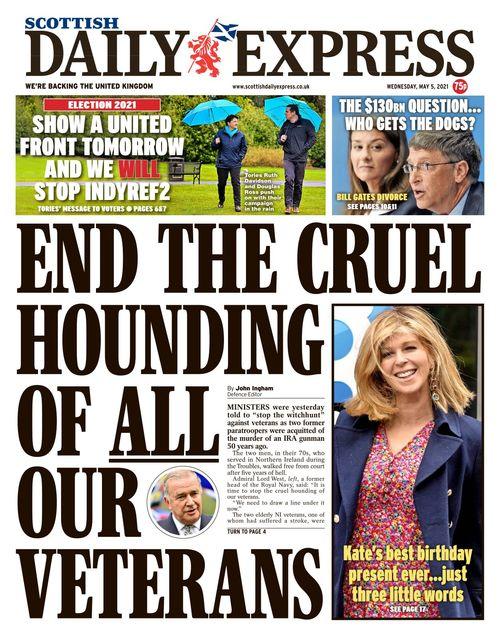 Scottish Daily Express 2021-05-05