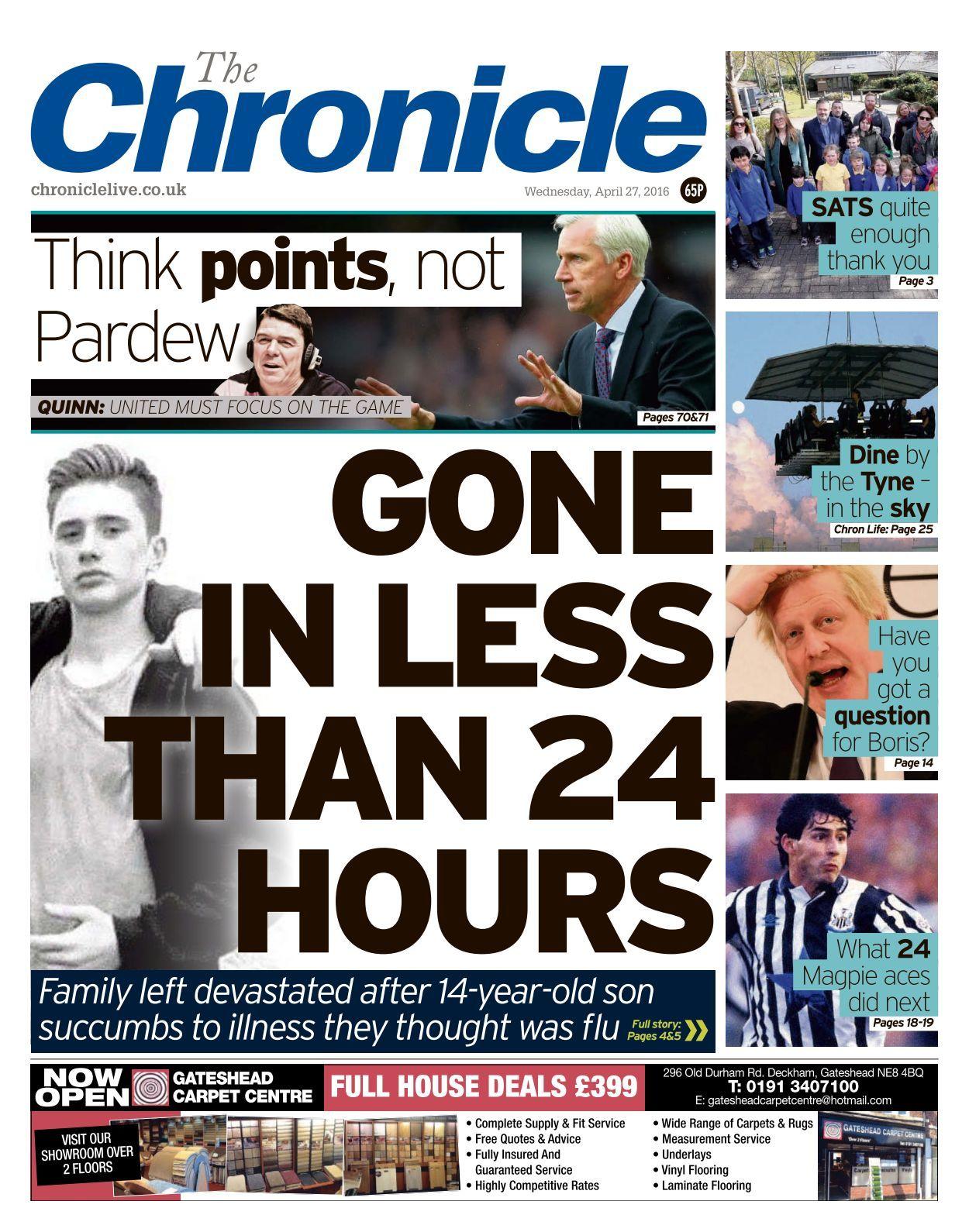 Newcastle Chronicle   20 20 20