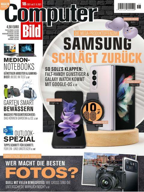 COMPUTER BILD Ausgabe 18/2021