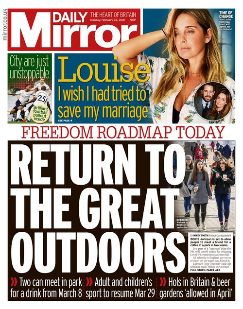 Daily Mirror 2021-02-22