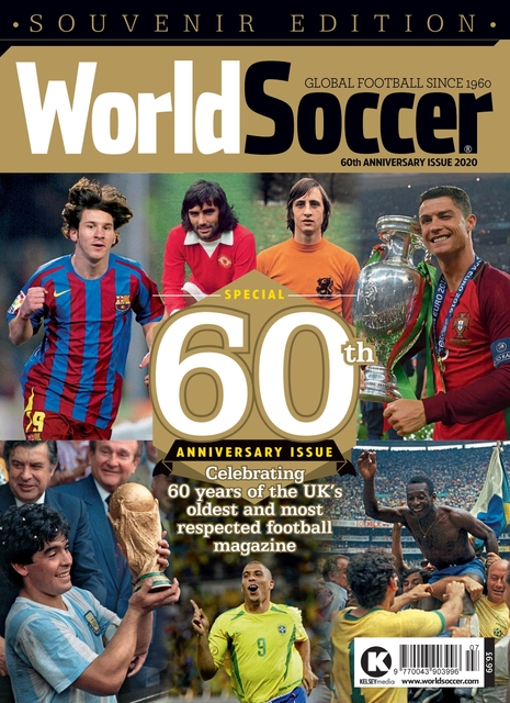 World Soccer issue 60th Anniversary