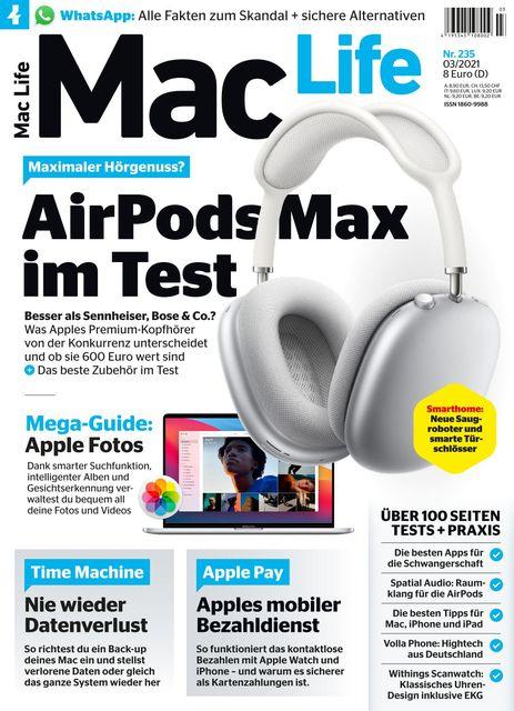 Mac Life Ausgabe 03/2021