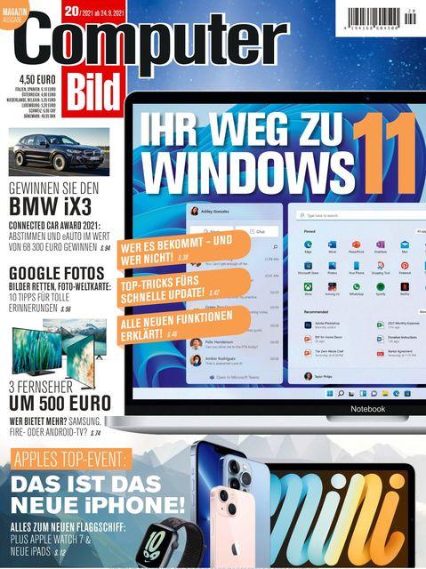 COMPUTER BILD Ausgabe 20/2021