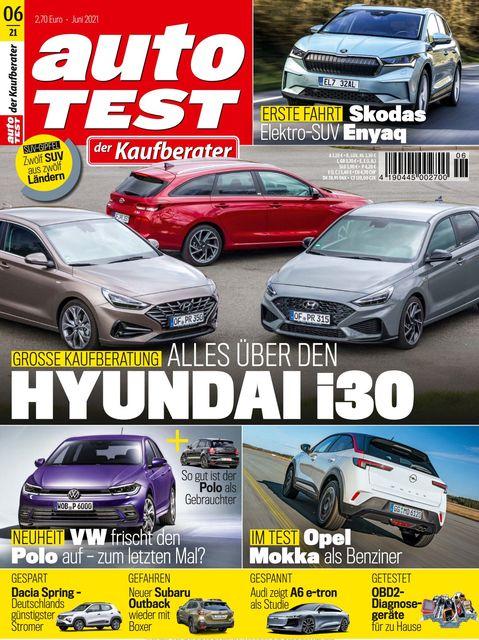 AUTO TEST Magazin 2021-05-26
