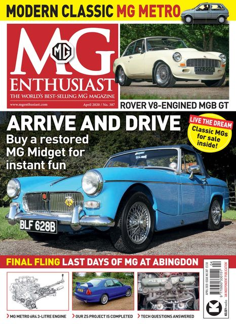 MG Enthusiast issue 04/2020