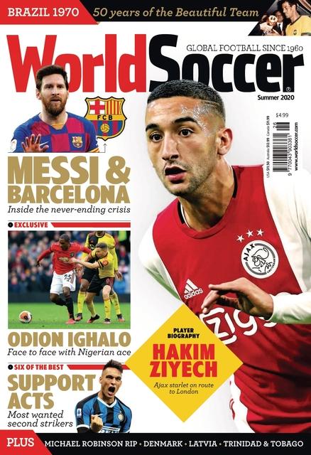 World Soccer issue Summer 2020
