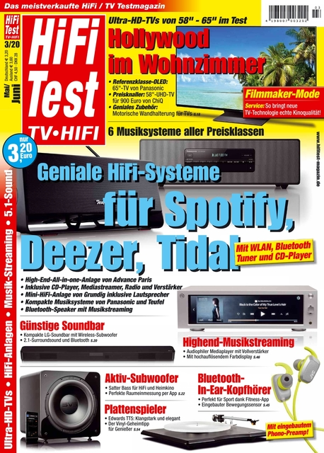 HiFi Test TV • HiFi Ausgabe 03/2020