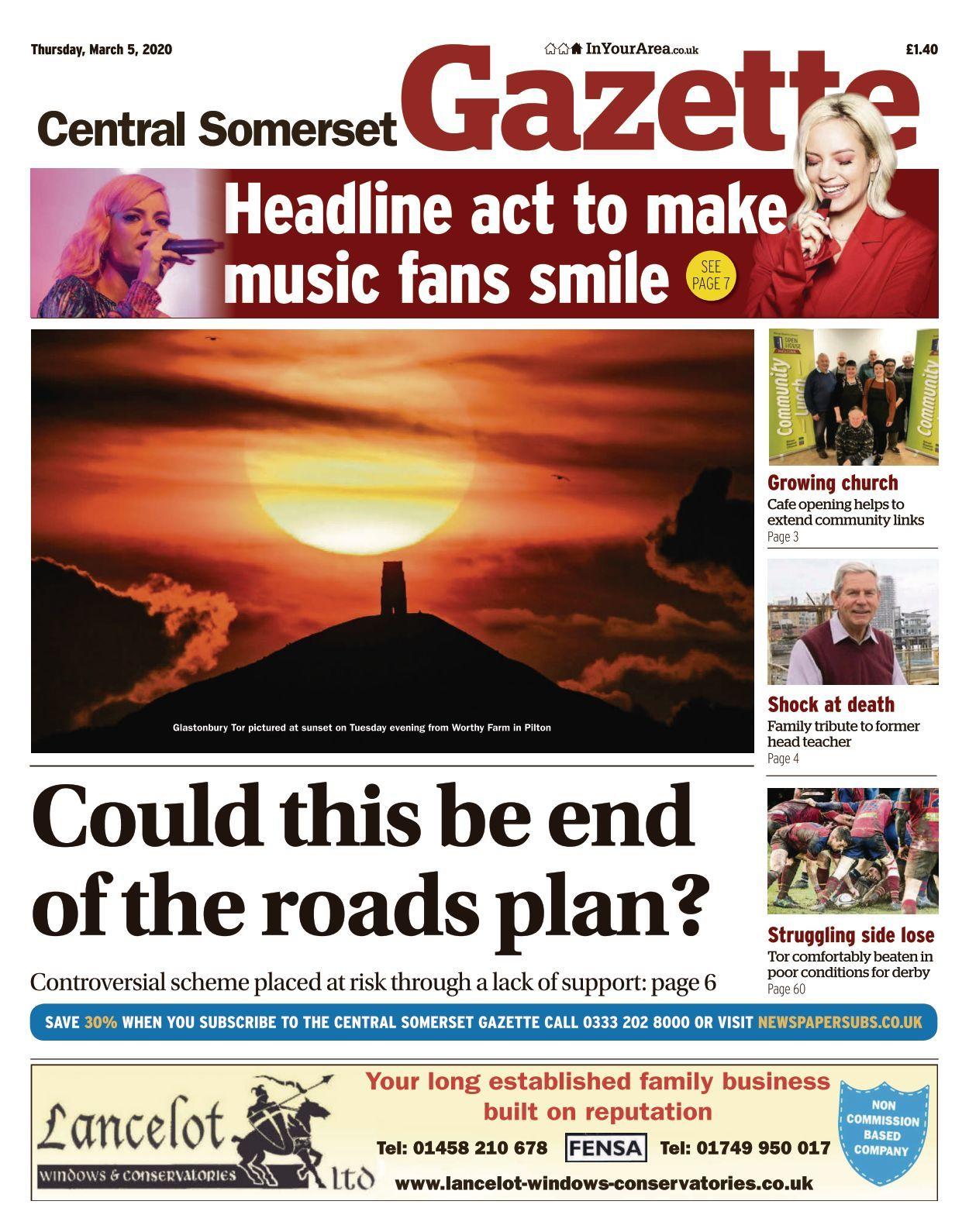 Central Somerset Gazette   50 50 50
