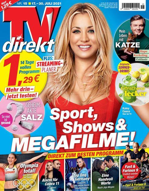 TV direkt 2021-07-08