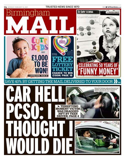 Birmingham Mail 2021-02-15