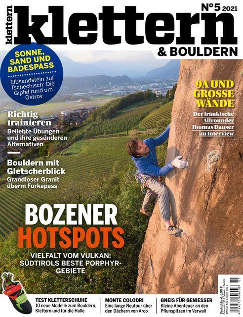Klettern Ausgabe 05/2021