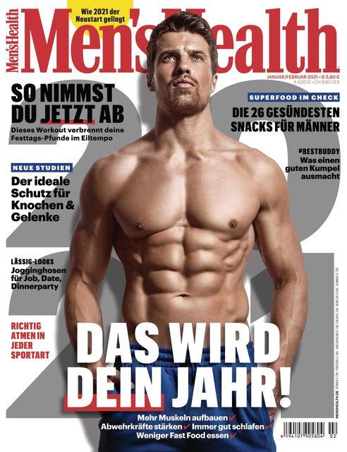 MEN'S HEALTH Ausgabe 01-02/2021