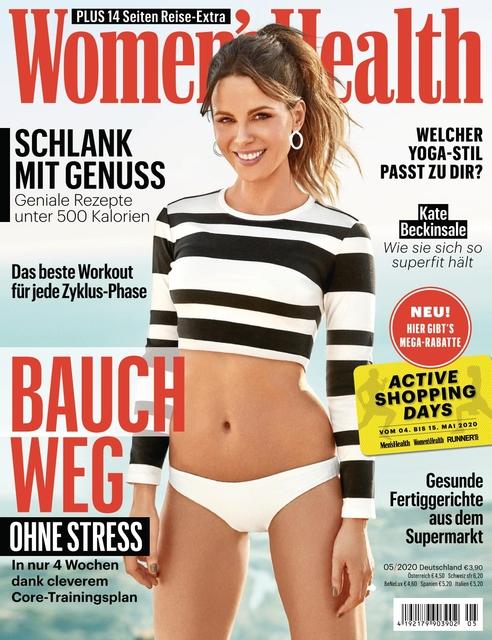 WOMEN'S HEALTH Ausgabe 05/2020