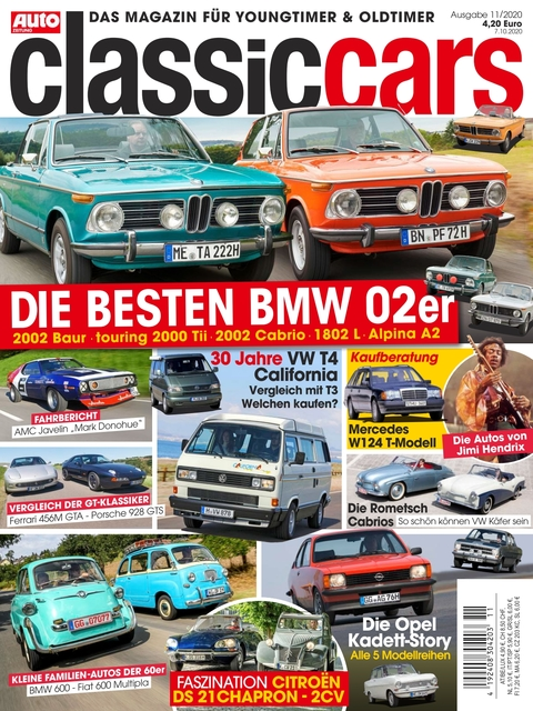 AUTO ZEITUNG classic cars Ausgabe 11/2020