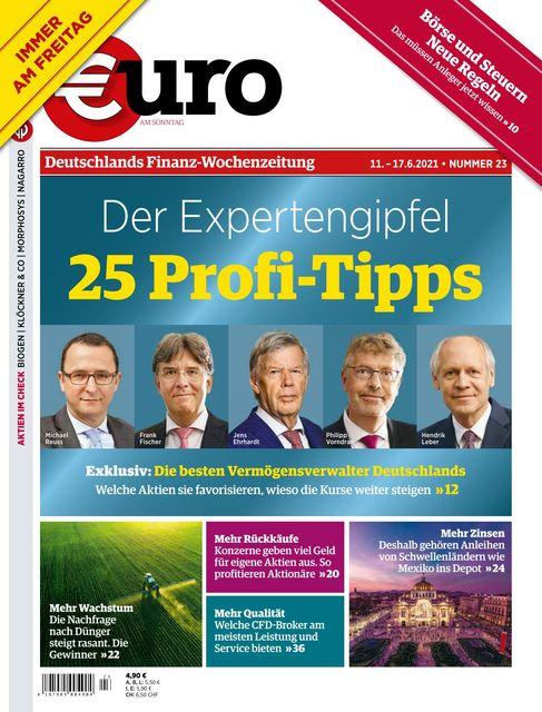 Euro am Sonntag 2021-06-11