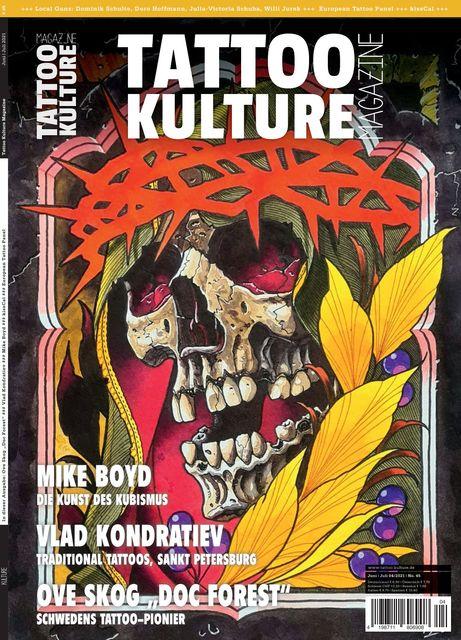 Tattoo Kulture Magazine #45