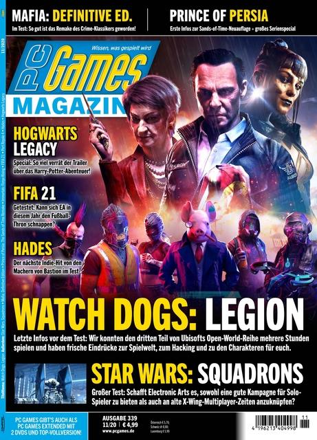 PC Games Ausgabe 11/2020