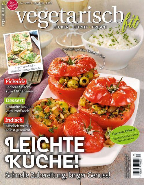 Vegetarisch fit Ausgabe 03/2021