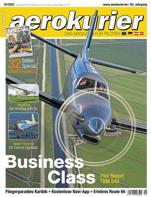Aerokurier Ausgabe 01/2021