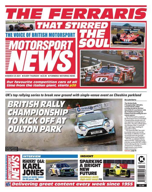 Motorsport News 25 March 2021