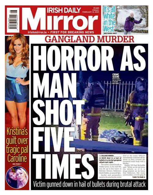 Irish Daily Mirror 2021-02-12