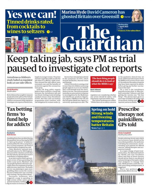 The Guardian 2021-04-07