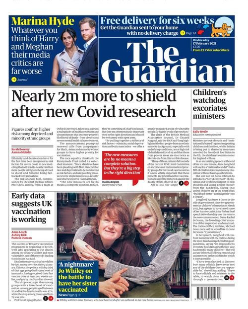 The Guardian 2021-02-17