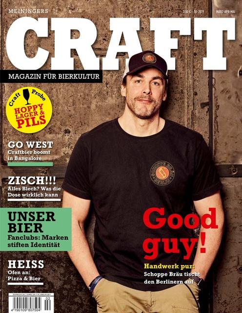 Meiningers Craft - Magazin für Bierkultur Ausgabe 02/2019