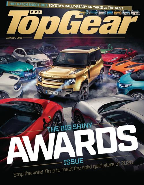 BBC Top Gear Magazine issue Awards 2020