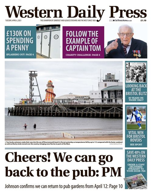 Western Daily Press 2021-04-06