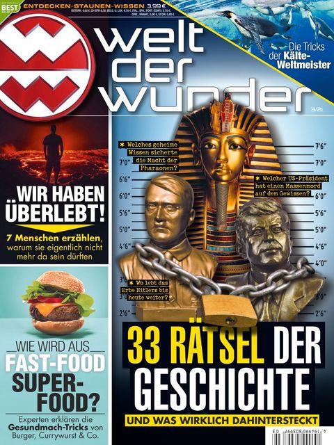 Welt der Wunder Ausgabe 3/2021