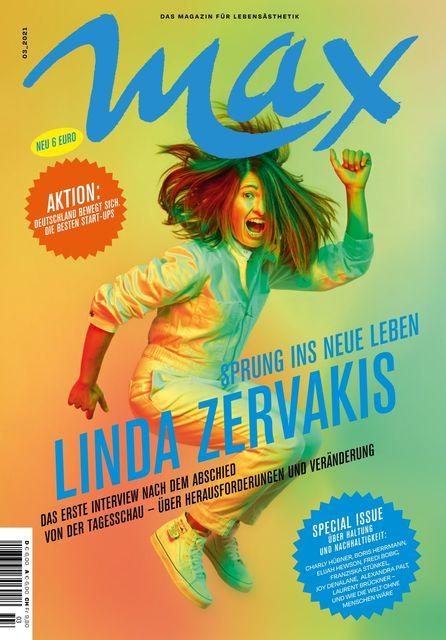 MAX Das  für Lebensästhetik Magazin Ausgabe 03/2021