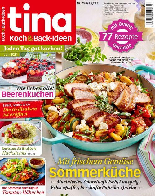 tina Koch und Backideen Ausgabe 7/2021