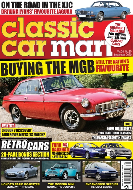Classic Car Mart issue 09/2020