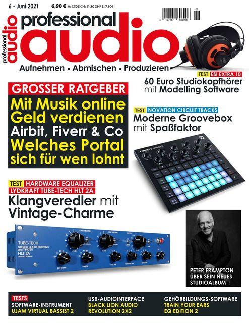 Professional audio Ausgabe 06/2021