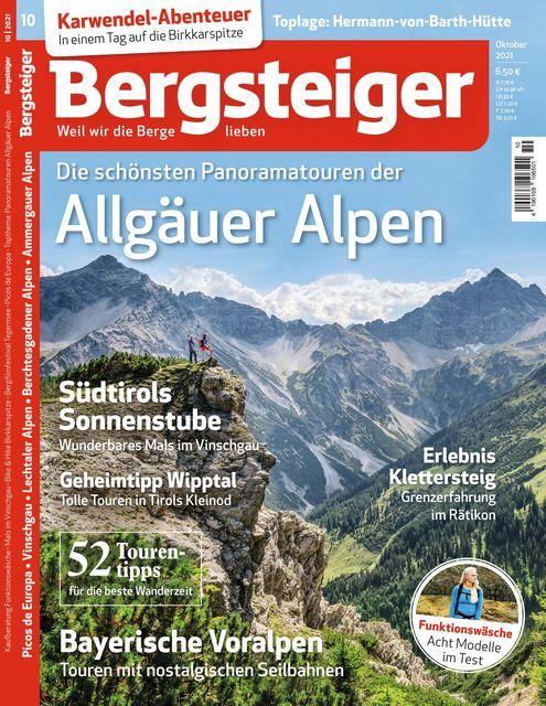 Bergsteiger Ausgabe 10/2021